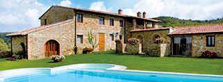 Holiday homes pool Italy