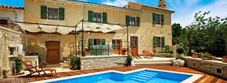 Luxury vacation homes in Croatia