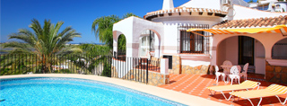 Luxury vacation homes in Spain